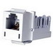 Hubbell Premise HXJUW Xcelerator™ USOC Standard Size Category 3 RJ11 Modular Jack; 6P, White