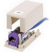 Hubbell Premise ISB1EI Istation™ Low Profile Surface Mount Box; Screw Mount, Composite, Electric Ivory, (1) Port