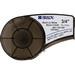 Brady M21-750-499 High Adhesion Label Cartridge; 0.750 Inch Width x 16 ft Height, Black/White