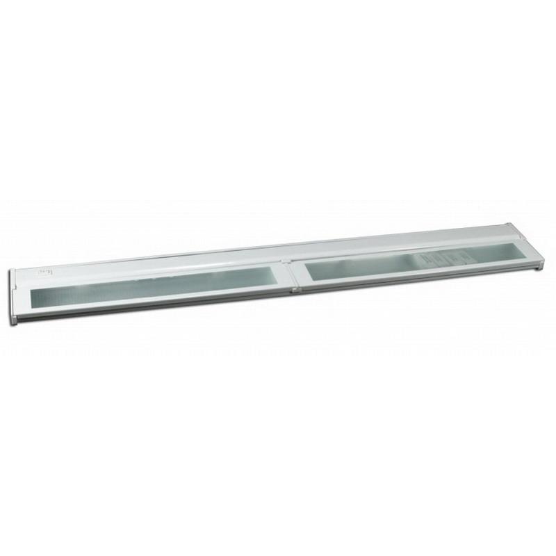 American Lighting LXC4HWH 4-Light Xenon Under-Cabinet Light Fixture; 25 Watt, White