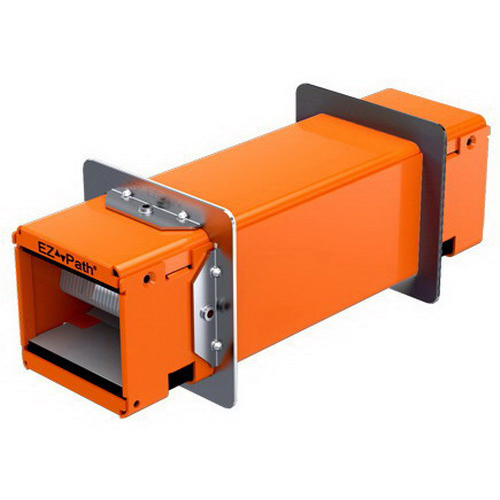 Specified Technologies EZDP33FWS EZ-Path 33 Series Fire-Rated Square Wall Pathway Device Full Kit; Orange