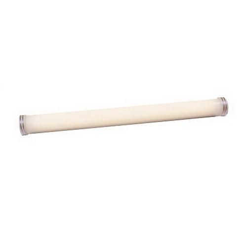 Philips Day-Brite N117-UNV-1/1-EB-CS 1-Light Row/Surface/Suspension Mount Unit Heavy Duty Fluorescent Striplight Fixture; 17 Watt, Baked White Enamel