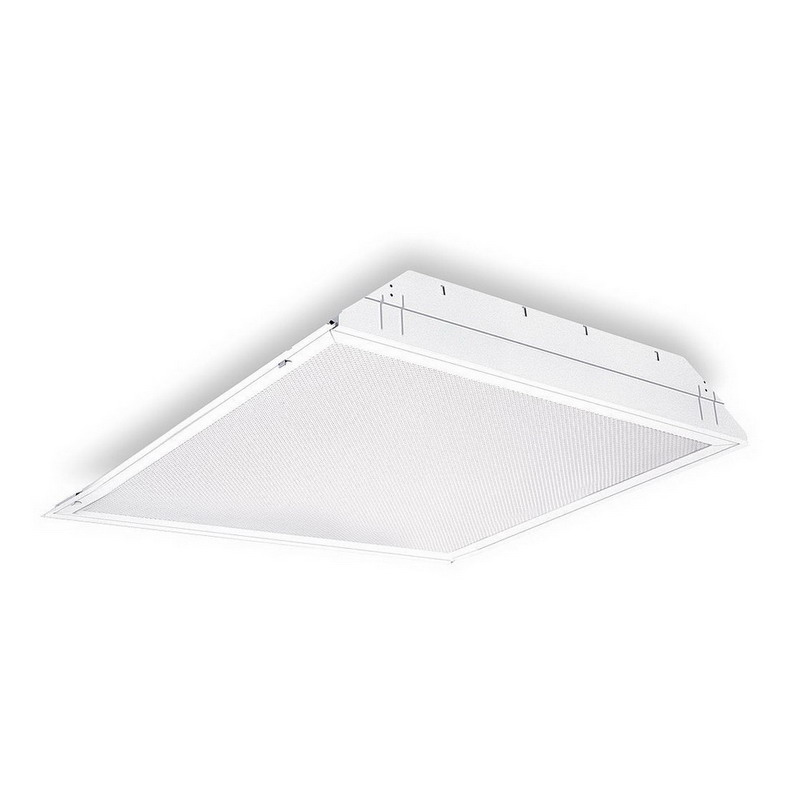 Lithonia Lighting / Acuity 2GT8-3-17-A12-MVOLT-1/3-GEB10I 3-Light General Purpose Troffer; 17 Watt, Lamp Not Included