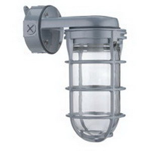 Lithonia Lighting / Acuity VW150I-M12 Vapor Tight Utility Light Fixture; 150 Watt, Gray