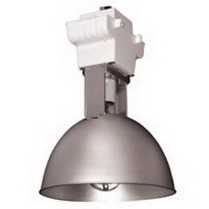 Lithonia Lighting / Acuity CHD400PPSL 1-Light Ceiling Mount CHD Series Metal Halide HID High Bay Fixture; 400 Watt, White Polyester Powder-Coated, Lamp Included