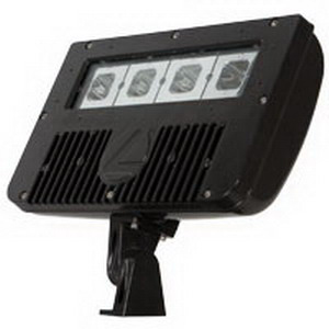 Lithonia Lighting / Acuity DSXF2-LED-3-40K-M2 LED Flood Light; 58 Watt, 5250 Lumens, Dark Bronze