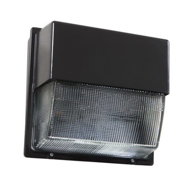 Lithonia Lighting / Acuity TWH-LED-10C-50K Outdoor Area and Site LED Wallpack; 39 Watt, Powder-Coated, Lamp Included