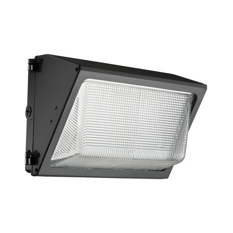 Lithonia Lighting / Acuity TWR1-LED-3-50K-MVOLT-M2 Outdoor Area and Site LED Wallpack; 59 Watt, Powder-Coated, Lamp Included