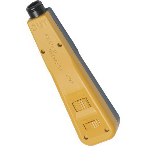 Fluke 10055200 D814 Automatic Impact Punchdown Tool; 1.400 Inch x 5.900 Inch x 1 Inch