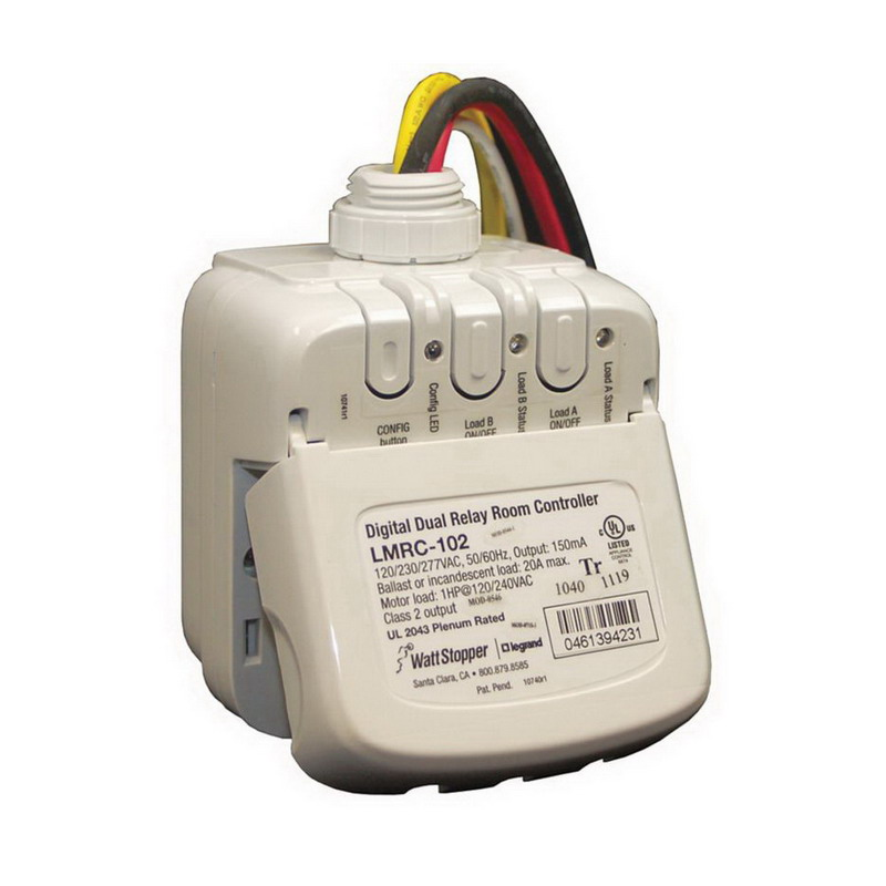 Wattstopper Universal Dimmer: Watt Stopper LMRC-102 Digital Lighting Management Relay