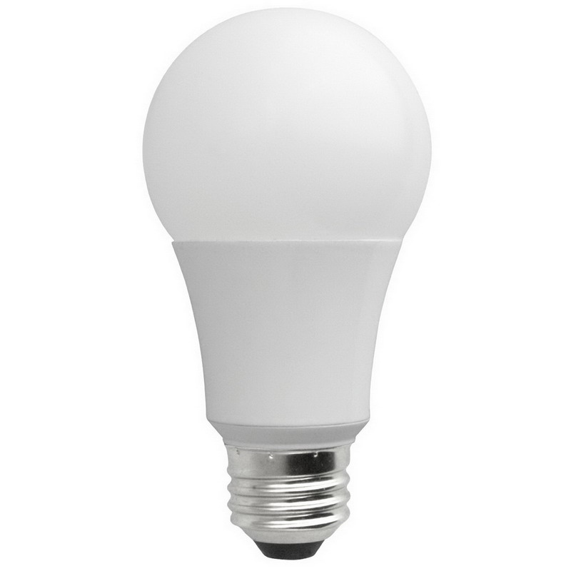 Tech-Con LED7E26SA1930K Elite Series A-Line LED Lamp; 7 Watt, 120 Volt AC, 3000K, 82 CRI, Smooth