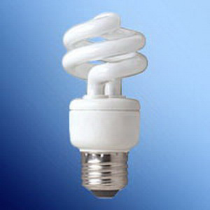 Tech-Con 801009 Compact Fluorescent Lamp; 9 Watt, 120 Volt, 2700K, 82 CRI, Medium Screw (E26) Base, 10000 Hour Life, Warm White