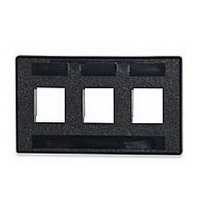Signamax FAK-4-BK Modular Furniture Adapter; Custom Furniture, Fire Retardant Thermoplastic, Black