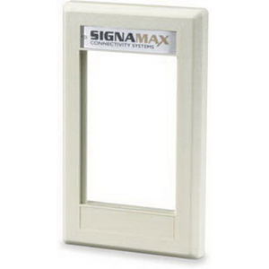 Signamax SGF-06 1-Gang Faceplate; Wall Box