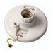 EPCO 16502 Lamp Holder With Pull Chain; Medium Screw (E26) Base