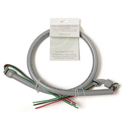 EPCO ACWNM1043-1RA Air Conditioner Whip; 10 AWG, 3 Conductors, 4 ft