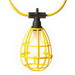 EPCO 16010 Temporary Deluxe Cord Light Without Plug; 150 Watt, 14/2 AWG, Yellow