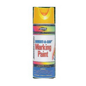 L.H. Dottie 272 Invert-A-Cap® Marking Paint; 16 oz, Aerosol Can, Fluorescent Orange
