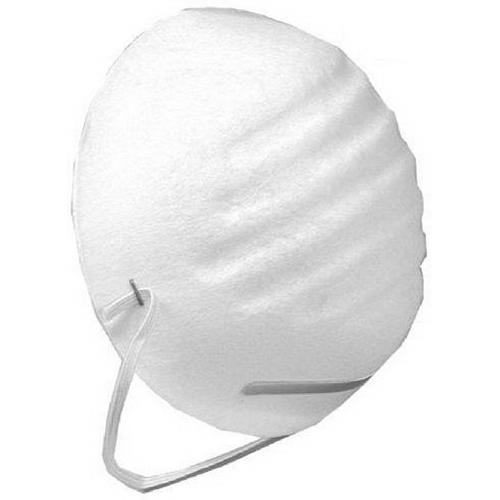 L.H. Dottie MSK55 General Purpose Half Face Respirator Dust Mask; Universal, White