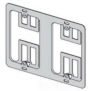 Cooper B-Line BB10 Cover Plate Mounting Bracket; Steel, 50/BX