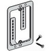 Cooper B-Line BB10L Cover Plate Mounting Bracket; Steel, 50/BX