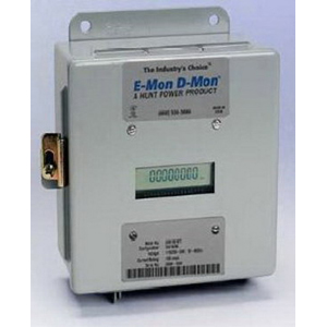 E-Mon 208400KIT Class 2000 3 or 4-Wire KWH Meter; LCD Display, 7 Inch Width x 3.250 Inch Depth x 7.250 Inch Height, 120/208/240 Volt, 400 Amp, 3 Phase