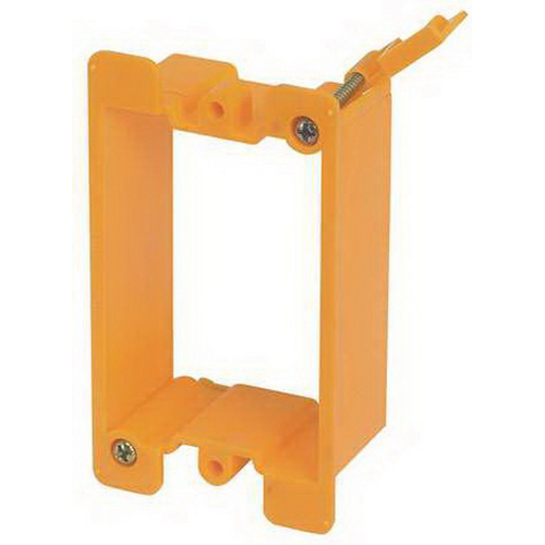 Cooper B-Line BB10P Cover Plate Mounting Bracket; Plastic, 50/BX