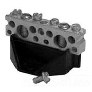 Eaton / Cutler Hammer BINA Isolated Neutral Assembly; 8 Inch Length x 5 Inch Width x 1.500 Inch Height, For Type CH Load Center