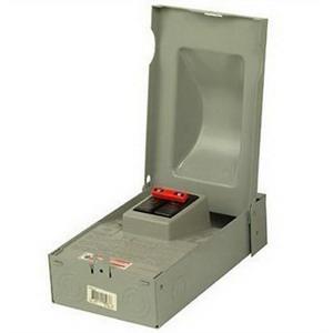 """""Eaton / Cutler Hammer DPB222R Molded Case Switch 240 Volt AC, 60 Amp, 10 Kilo-Amp Interrupt, 1 Phase, Surface Mount,"""""" 512708"