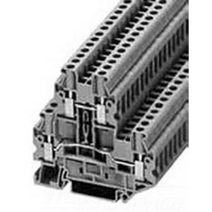Eaton / Cutler Hammer XBUTT4 Terminal Block; 6.2 mm, Gray