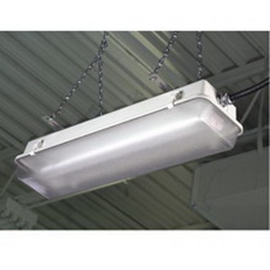 Cooper Crouse-Hinds NFL4232/UNV 2-Light Ceiling NFL Series Fluorescent Strip Fixture; 32 Watt, White