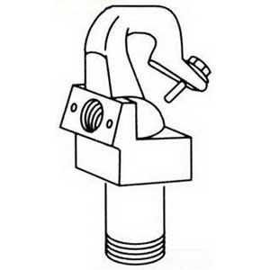 Philips Day-Brite HMR Male Suspension Hook; 0.750 Inch