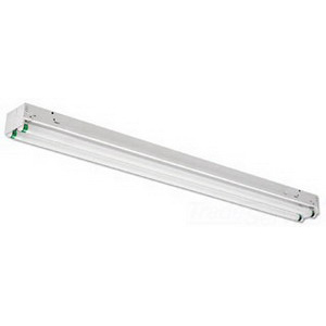 Philips Day-Brite TT232-120-1/4-EB 2-Light T Tandem Series Standard Fluorescent Strip Fixture; 32 Watt, Baked White Enamel, Lamp Not Included