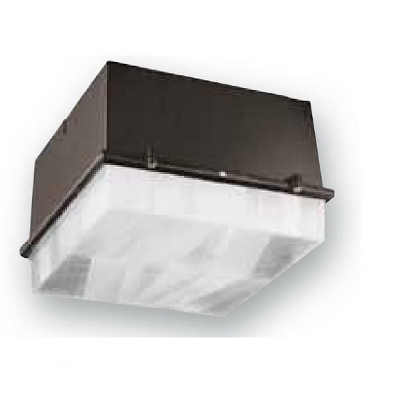 Philips Day-Brite CLI150MMT-LP 1-Light 3-1/2 Inch Octagon/4 Inch Square Fixture Metal Halide Canopy Lighting With Outlet Box Lamp Polyester Powder-Coated,""