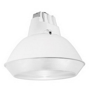 Philips Day-Brite LBN250P48-PSC-Q-OR 1-Light Ceiling Mount LBN Series Metal Halide Low Bay Luminaire; 250 Watt, White Polyester Powder-Coated