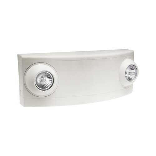 Hubbell Lighting / Dual-Lite LZ65-12V Double Head LZ Series Emergency Light Fixture; 120/277 Volt AC, 65 Watt, White