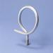 Erico 2BRT12 Threaded Bridle Ring; #10-24 Dia x 1/2 Inch Length Screw, 3/4 Inch Dia, Steel, 100/Pack
