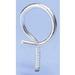 Erico 4BRT20WS Threaded Bridle Ring; 1.250 Inch Dia x 0.750 Inch Length Screw, Steel, 100/PK