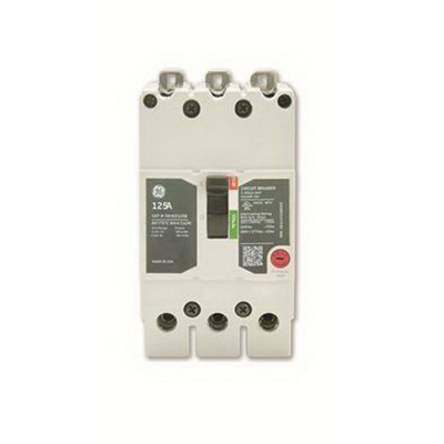 GE Distribution TEYD3040B Molded Case Circuit Breaker; 40 Amp, 480/277 Volt AC, 3-Pole, Bolt-On Mount