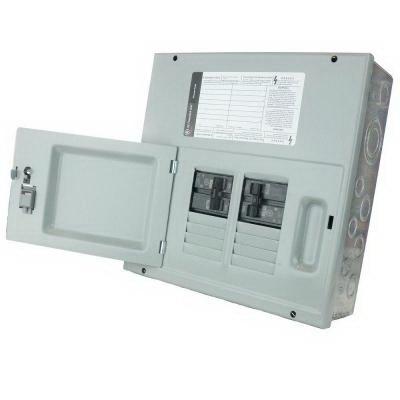 GE Distribution TM830SCUGEN PowerMark Gold™ Generator Panel; 30 Amp, Surface Mount