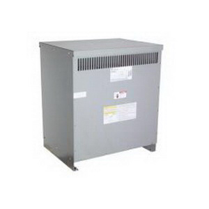 GE Transformer 9T83B3874 Dry Transformer; 480 Volt Primary, 208/120 Volt AC Wye Secondary, 75 KVA, 3 Phase, Lug/Bolt Down Terminal