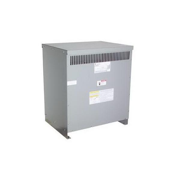 GE Transformer 9T83B3875 Dry Transformer; 480Y Volt Primary, 208/120 Volt Wye Secondary, 112.5 KVA, 3 Phase, Lug/Bolt Down Terminal