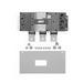 GE Busway MB331WB Breaker Kit; 400 Amp, 208/120 Volt AC, 3-Pole