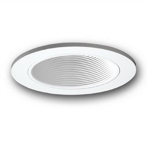 Capri Lighting RBC30WM 6 Inch Baffle With Torsion Springs; Full White