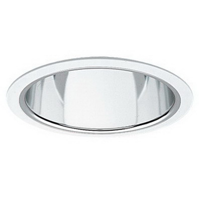 Capri Lighting RMA100CLR 6 Inch Trim With A-Lamp Reflector; Insulated/Non-Insulated
