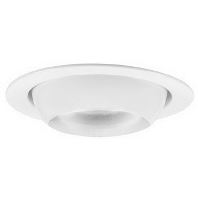 Capri Lighting P4EW 4 Inch Eyeball Trim; White