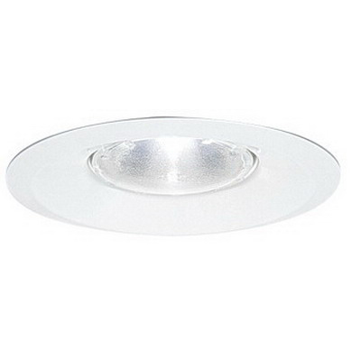 Capri Lighting RS30W 6 Inch Trim With Splay; Insulated/Non-Insulated, White