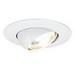 Capri Lighting R18P 6 Inch Trim With 30 Degree Tilt Eyeball; Non-Insulated