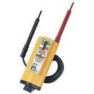Ideal 61-065 Voltage Tester; 80 - 600 Volt DC, Solenoid Indicator Display