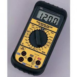 Ideal 61-361 Test-Pro® Multimeter; 200 Milli-Volt/2000/20/200/600 Volt AC, 200/2000 Milli-Volt/20/200/600 Volt DC, 2 Amp AC/DC